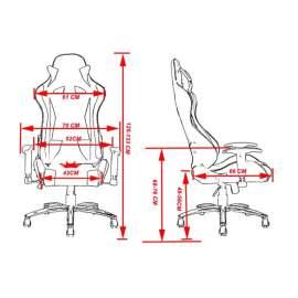 Big gamer irodai szék forgószék főnöki fotel