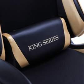 King gamer irodai szék forgószék főnöki fotel AJÁNDÉK VR BOX