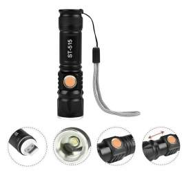 USb-ről tölthető akkumulátoros LED zseblámpa