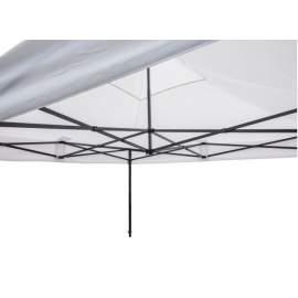 3x4,5 Rendezvény sátor árusító piaci horgász kerti pavilon fehér vastag pon