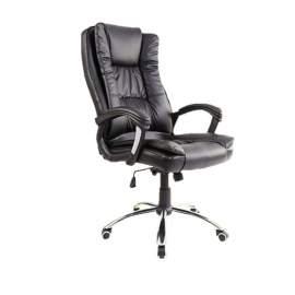 ERGONOMIC gazdagon kárpitozott főnöki fotel irodai szék forgószék erős