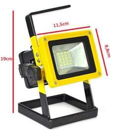 Rec Led akkumulátoros reflektor lámpa akkus munkalámpa