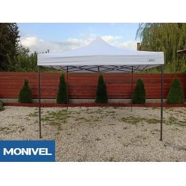 2x2 fehér Rendezvény sátor árusító piaci horgász kerti pavilon
