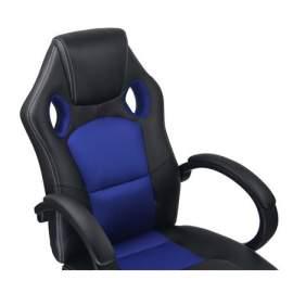 Racing gamer irodai szék vezetői forgószék kék