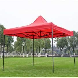 2x2 -es tetőponyva rendezvény sátorhoz (csak tetőponyva) piros