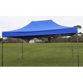 3x2 kék rendezvény sátor árusító piaci horgász kerti pavilon