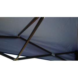UV álló 3x2 kék rendezvény sátor árusító piaci horgász kerti pavilon