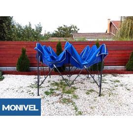 UV álló 3x3 kék rendezvény sátor árusító piaci horgász kerti pavilon
