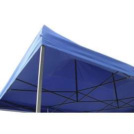 3x6 kék rendezvény sátor árusító piaci horgász kerti pavilon