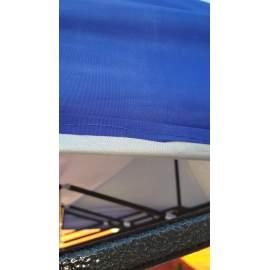 3x2 UV álló kék tetőponyva kerti pavilonhoz rendezvény piacisátorhoz