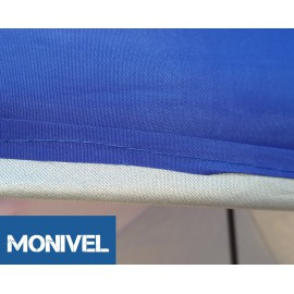 3x3 UV álló kék tetőponyva kerti pavilonhoz rendezvény piaci sátorhoz