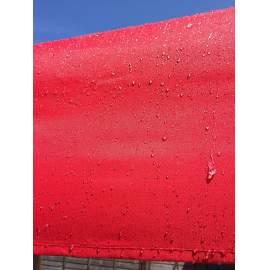 3x4,5 piros tetőponyva sátortető sátorponyva ponyva kerti pavilonhoz