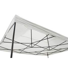 3x4,5 fehér tetőponyva sátortető sátorponyva ponyva kerti pavilonhoz