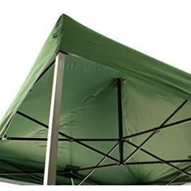 3x6 zöld tetőponyva sátortető sátor tető ponyva kerti pavilonhoz 6x3