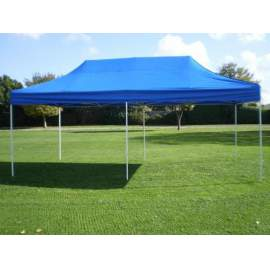 3x6 kék tetőponyva sátortető sátor tető ponyva kerti pavilonhoz 6x3