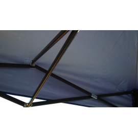 3x4,5 UV álló kék tetőponyva kerti pavilonhoz rendezvény piaci sátorhoz