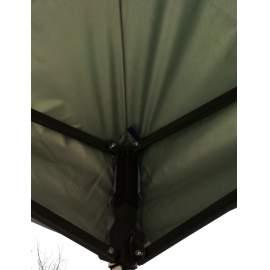 3x6 UV álló kék tetőponyva kerti pavilonhoz rendezvény piaci sátorhoz