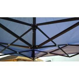 UV álló 2x2 kék rendezvény sátor árusító piaci horgász kerti pavilon
