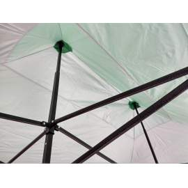 UV álló 3x4,5 zöld rendezvény sátor árusító piaci horgász kerti pavilon