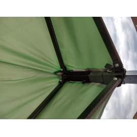 UV álló 2x2 zöld rendezvény sátor árusító piaci horgász kerti pavilon