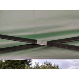 UV álló 3x2 zöld rendezvény sátor árusító piaci horgász kerti pavilon 2x3