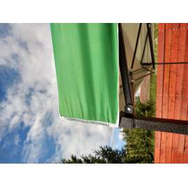 3x2 UV álló zöld tetőponyva kerti pavilonhoz rendezvény piaci sátorhoz