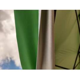 3x4,5 UV álló zöld tetőponyva kerti pavilonhoz rendezvény piaci sátorhoz