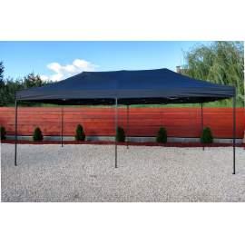 3x6 fekete tetőponyva sátortető sátor tető ponyva kerti pavilonhoz 6x3