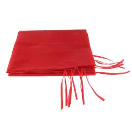 4,5m oldalfal piros oldalponyva rendezvény sátorhoz
