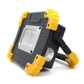 Trial led lámpa akkus reflektor munkalámpa