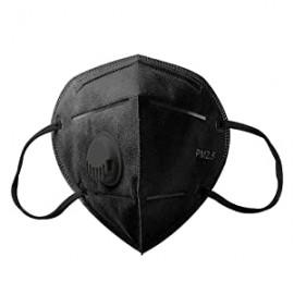 Készletről FFP2 védő maszk munkavédelmi aktívszenes szelepes porvédő N95 KN