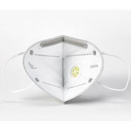 Rendelésre! 200db FFP2 védő maszk szürke szájmaszk aktívszenes szelepes