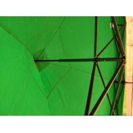 3x3 UV textil zöld tetőponyva sátortető sátorponyva ponyva sátor tető ponyv