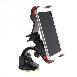 Univerzális autós csipeszes telefontartó gps tartó szélvédőre nagy méretű