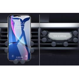 Autós telefon tartó szellőzőrácsra 6 pontos
