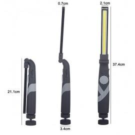 LED akkus fényerőszabályzós összecsukható munkalámpa lámpa