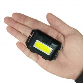 Nagy fényerejű elemes fejlámpa 3 fokozatban állítható