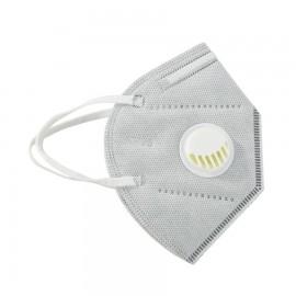 10db szürke FFP2 védő maszk szürke szájmaszk aktívszenes szelepes