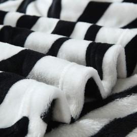 200x230cm puha takaró wellsoft ágytakaró zebra