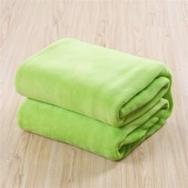 Zöld 200x230cm puha takaró wellsoft ágytakaró
