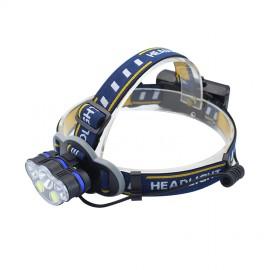 MONIVEL Nagy fényű akkumulátoros led fejlámpa 5 LED