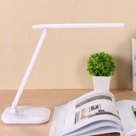 Q2 Asztali akkumulátoros led olvasó lámpa telefontartóval, 3 színhőmérséklet