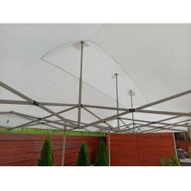 3x6 fehér erős vízálló pavilon piaci rendezvény horgász sátor