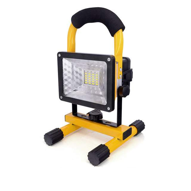 30w akkumulátoros led reflektor lámpa akkus