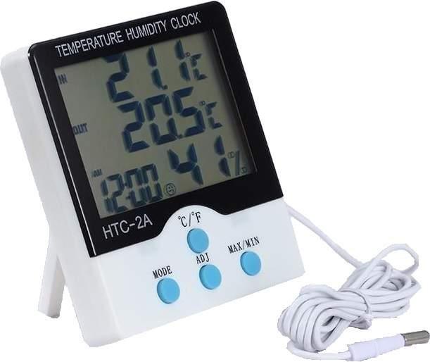Humi kül- és beltéri hőmérő páratartalom mérő óra asztali fali