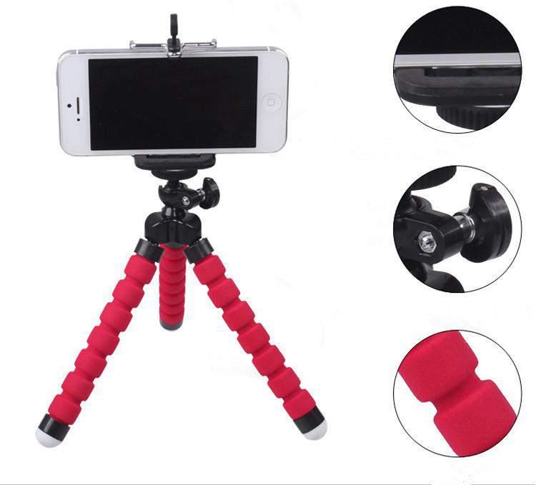 Szelfibot telefon selfie állvány flexibilis lábakkal