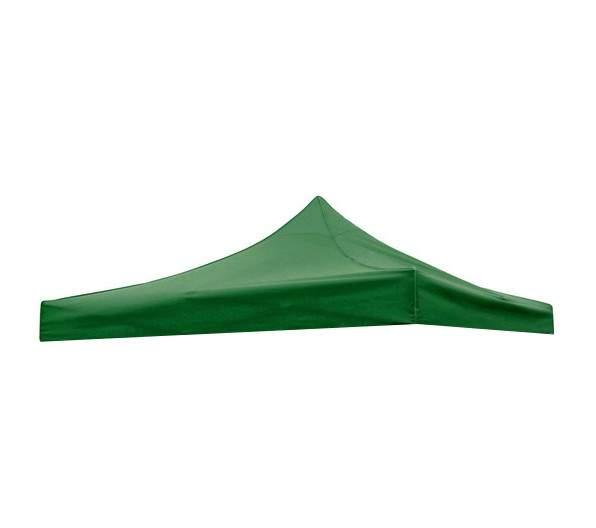 2x2 -es tetőponyva rendezvény sátorhoz (csak tetőponyva) zöld