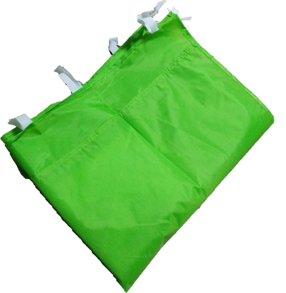 2m oldalfal zöld oldalponyva rendezvény sátorhoz