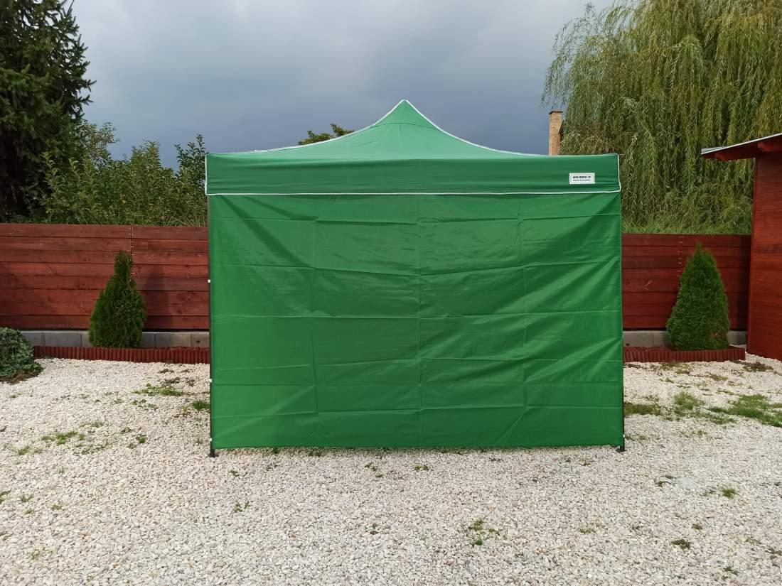 3m oldalfal zöld oldalponyva rendezvény sátorhoz