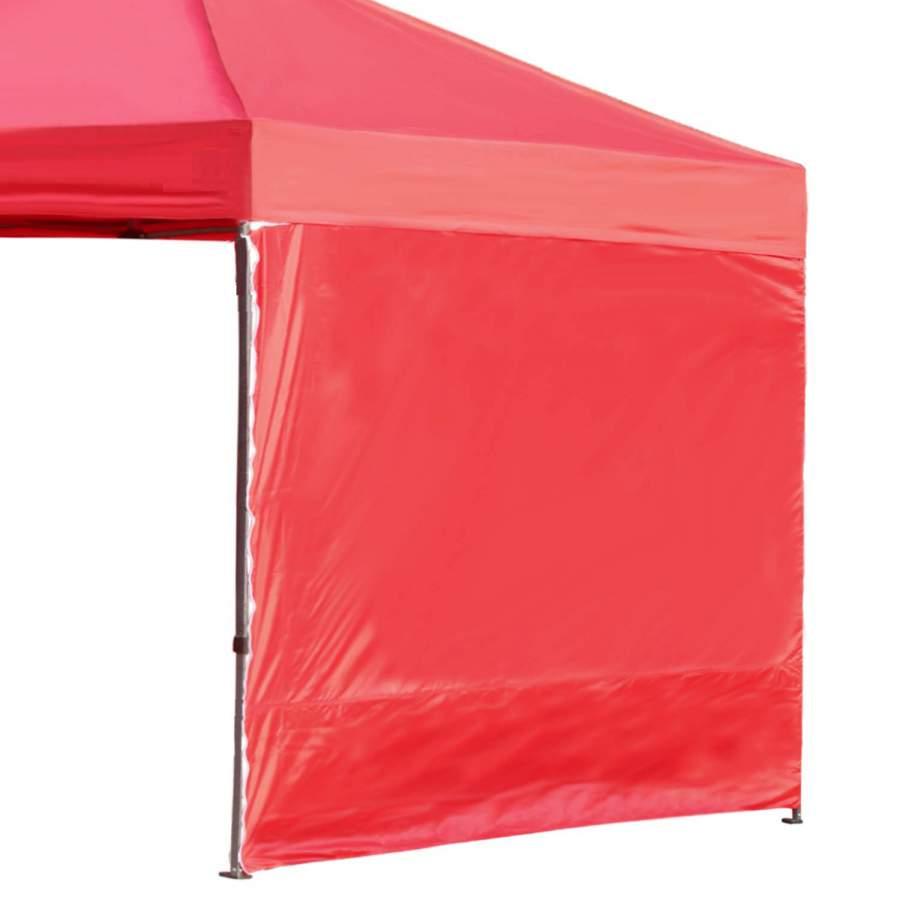 3m oldalfal piros oldalponyva rendezvény sátorhoz